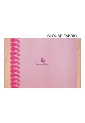 Woven Banarasi Chanderi Cotton Saree in Pink 8