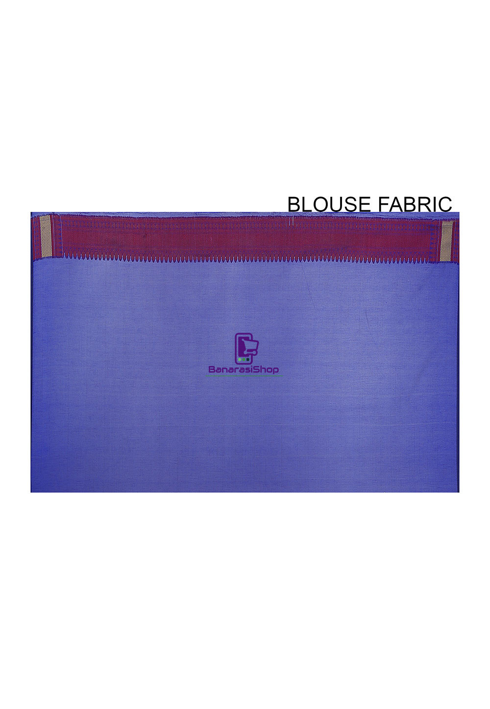 Woven Banarasi Art Silk Saree in Royal Blue 4