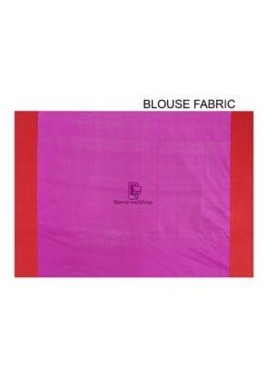 Woven Banarasi Art Silk Saree in Purple 8