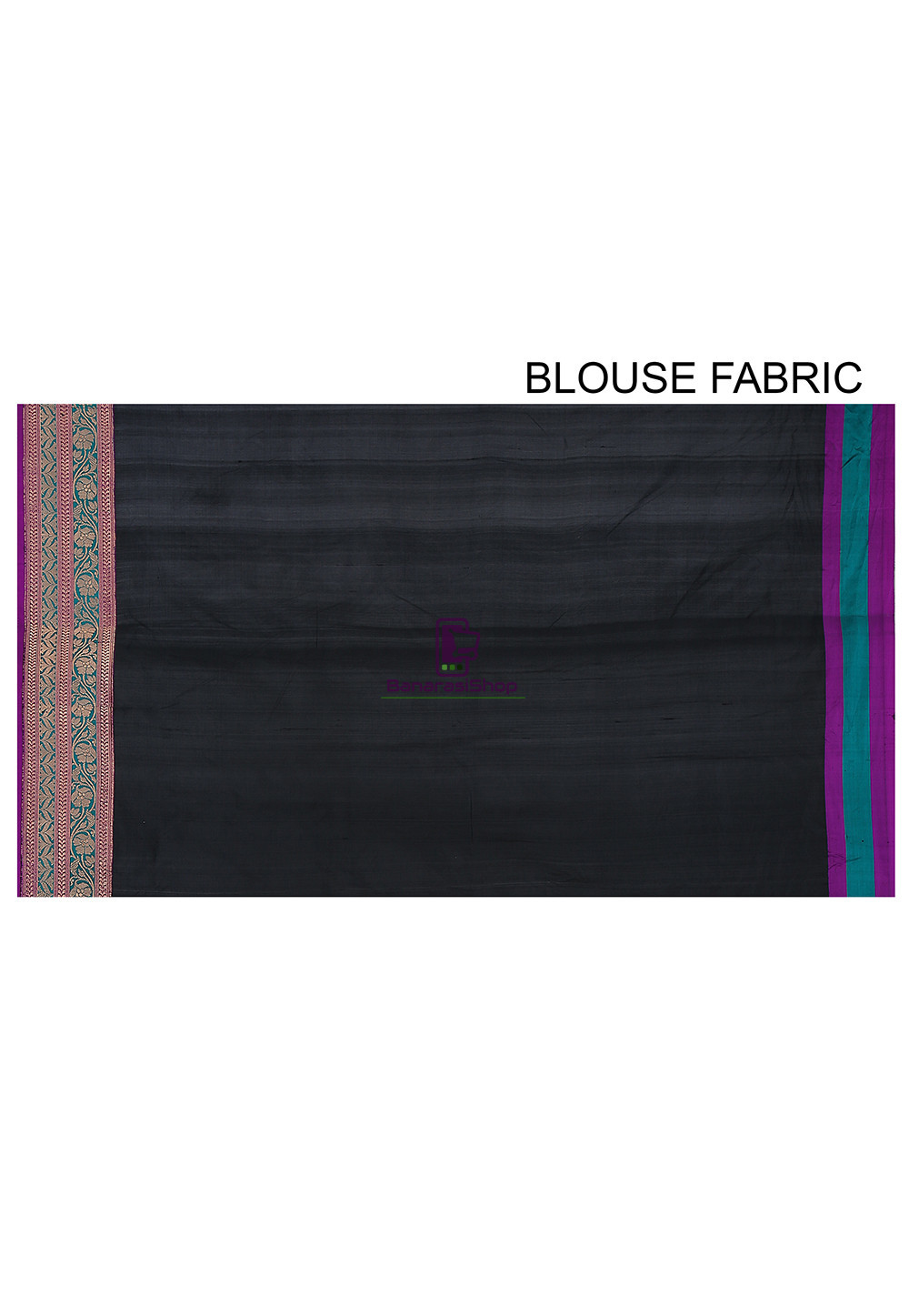 Banarasi Pure Katan Silk Handloom Saree in Black 4