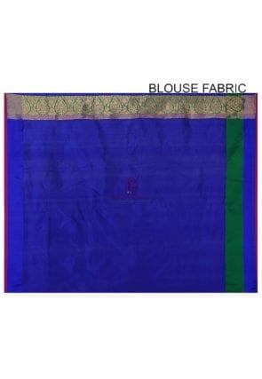 Banarasi Pure Katan Silk Handloom Saree in Black 8