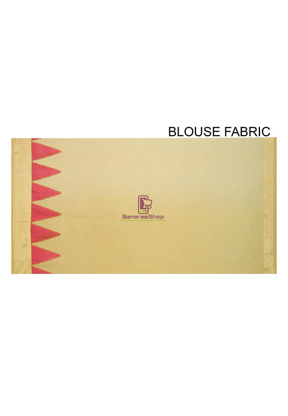 Woven Banarasi Cotton Silk Saree in Yellow 3