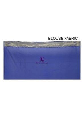 Banarasi Saree in Royal Blue 8