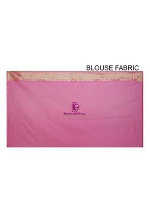 Banarasi Saree in Pink 8