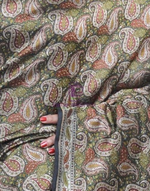 Pure Banarasi Handloom Jamdani Silk Saree 8