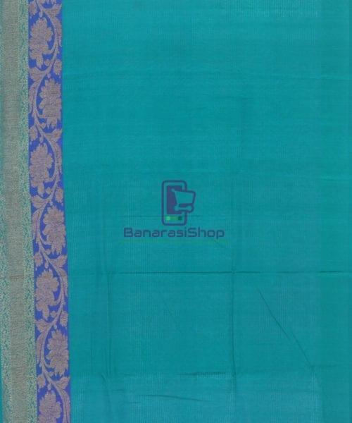 Banarasi Pure Handloom Dupion Silk Watermelon Pink Saree 6