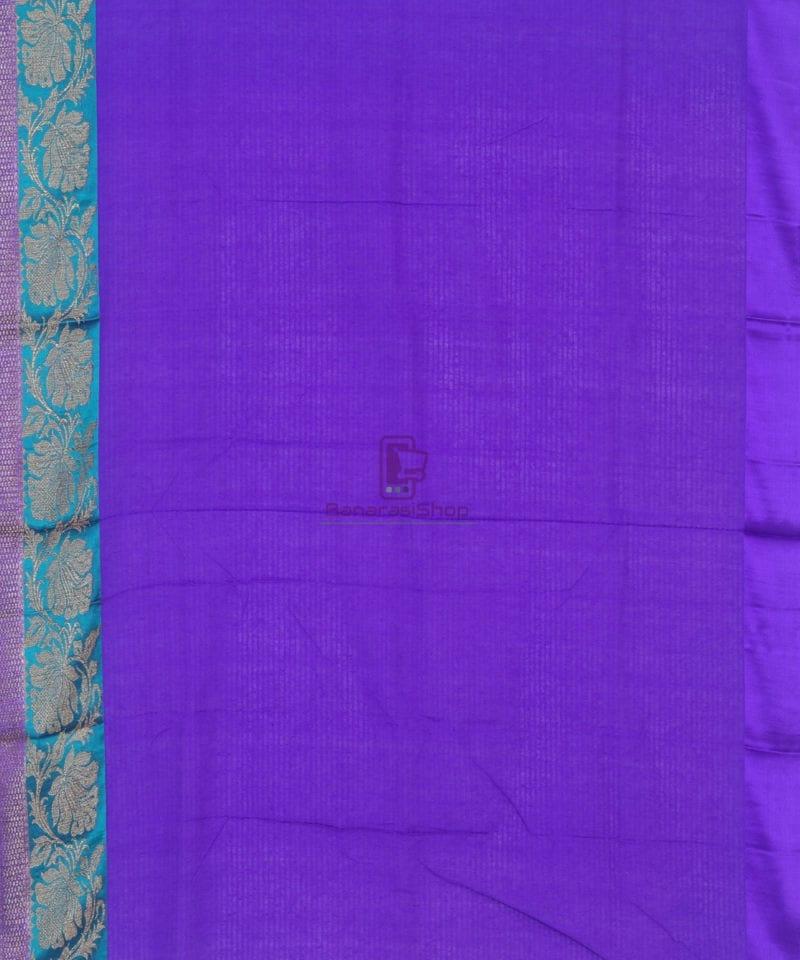 Banarasi Pure Handloom Dupion Silk Bubblegum Pink Saree 3
