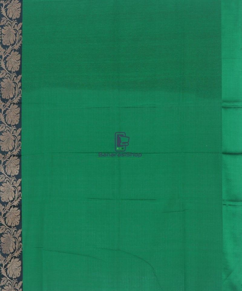 Banarasi Pure Handloom Dupion Silk Rose Red Saree 4