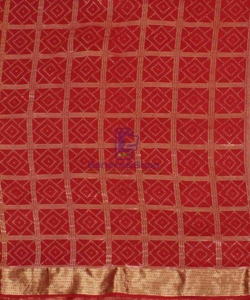 Pure Banarasi Muga Silk Handloom Saree in Brick Brown 4