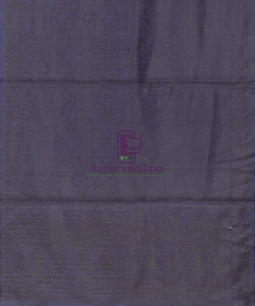 Handloom Banarasi Tanchoi Denim Blue Stole 5