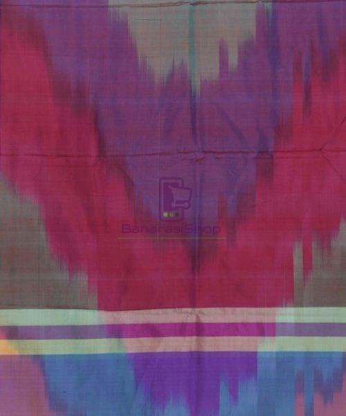 Multicolour Handloom Banarasi Tanchoi Stole 5