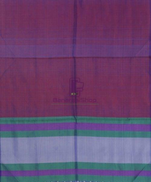 Handloom Multicolor Banarasi Tanchoi Stole 5