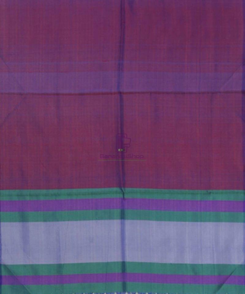 Handloom Multicolor Banarasi Tanchoi Stole 3