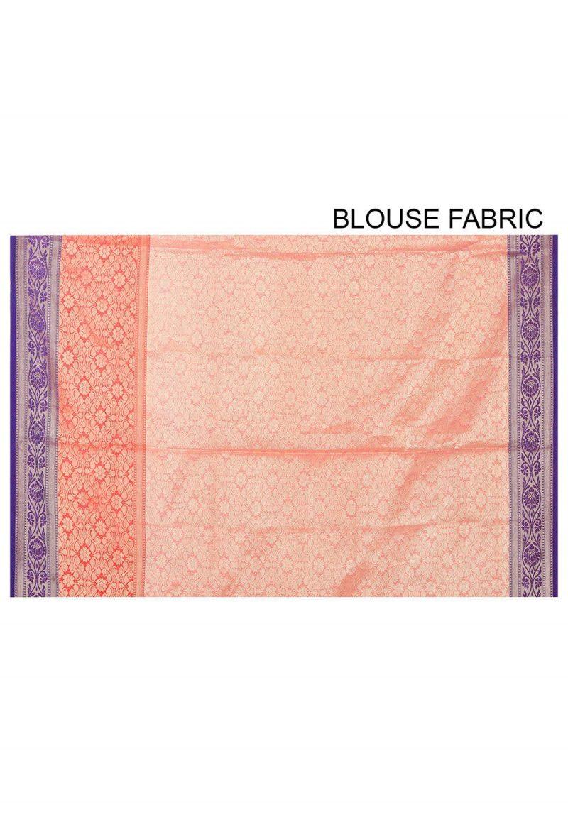 Banarasi Cotton Silk Saree in Mustard 3