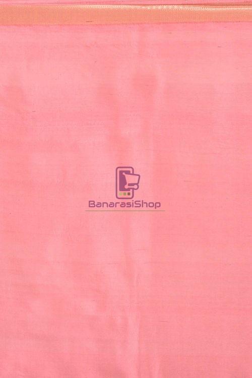 Pure Banarasi Dupion Silk Handloom Saree 3