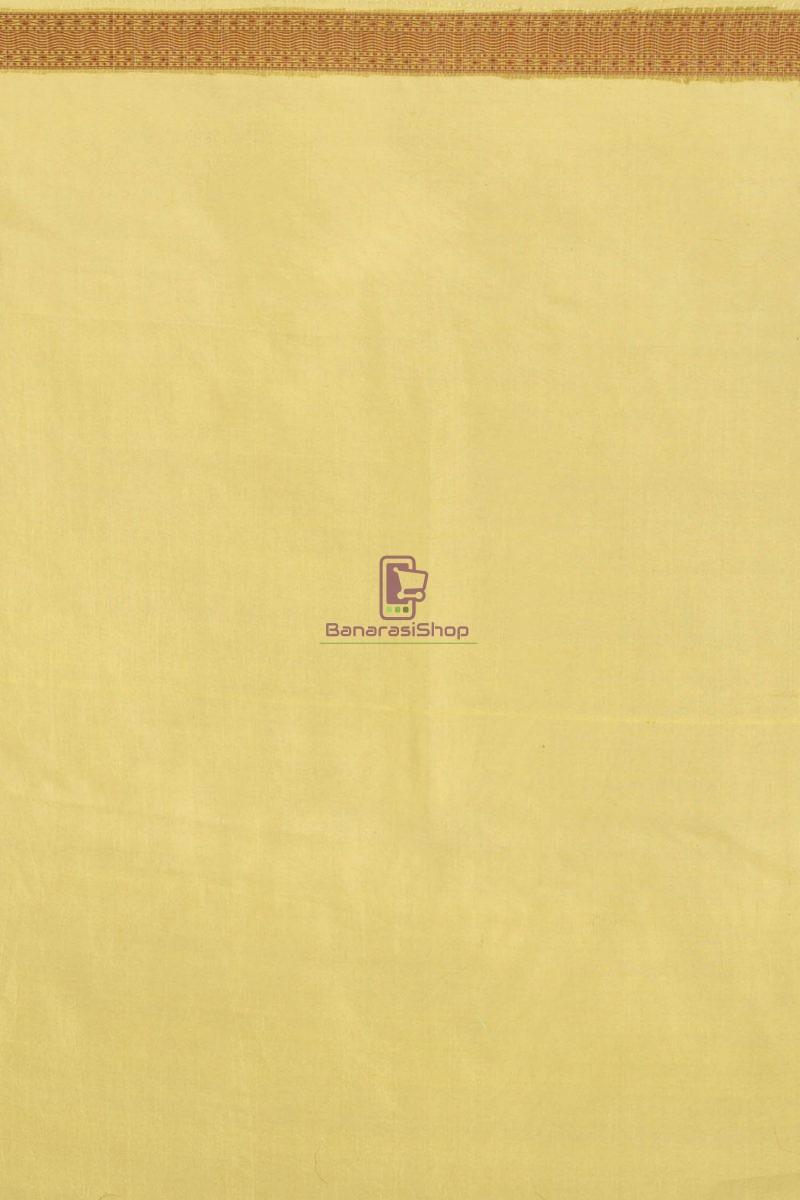 Pure Banarasi Dupion Silk Handloom Saree 2