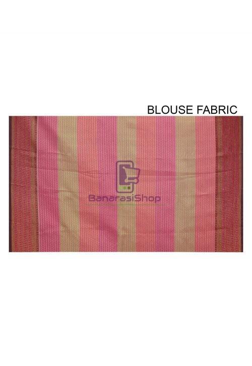Woven Banarasi Cotton Silk Saree in Black and Grey 6