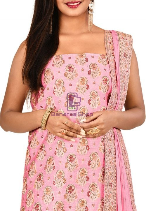 BanarasiShop : Buy Banarasi saree Suit Dupatta Online at 50% off 6