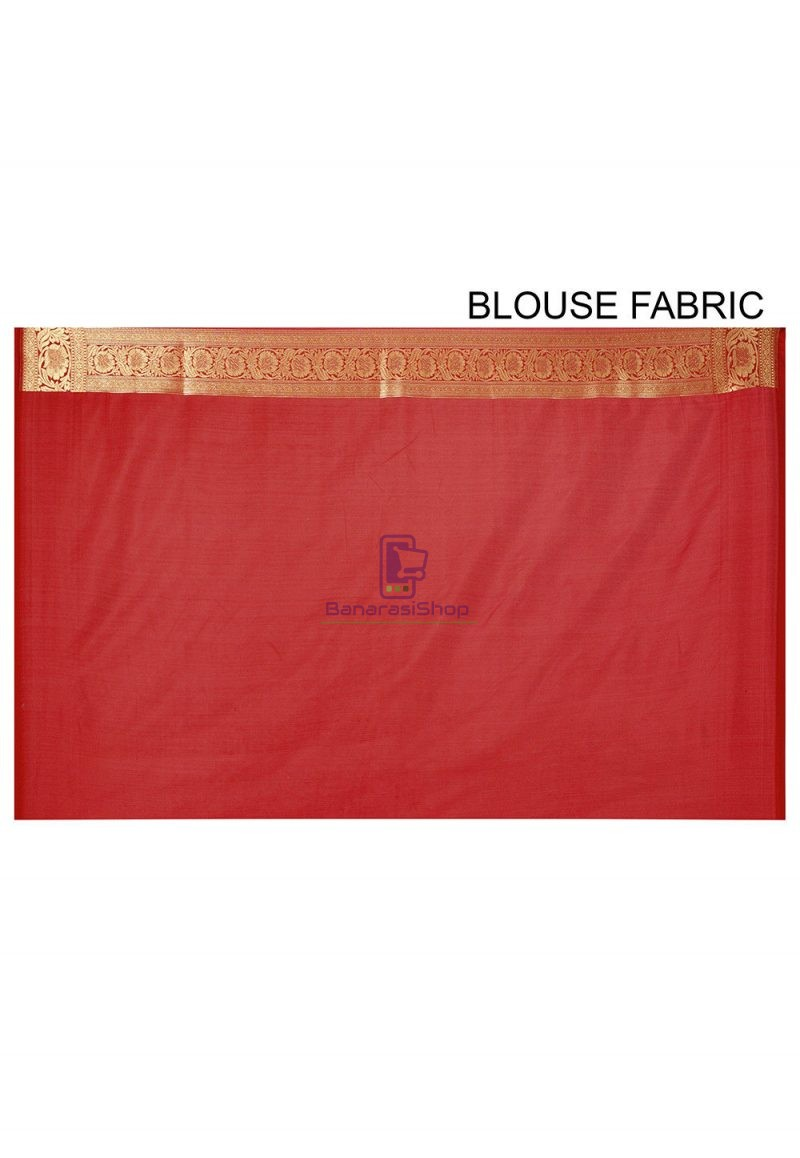 Banarasi Saree in Red 3