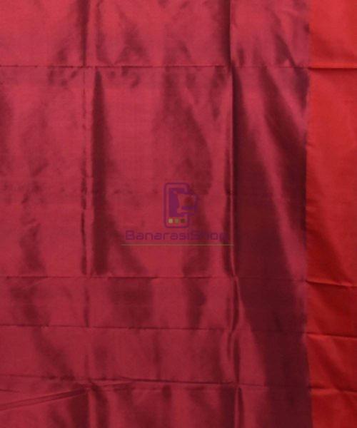 Banarasi Pure Katan Silk Handloom Navy Blue Saree 7