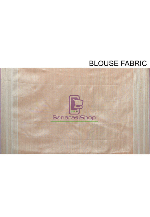 Woven Banarasi Cotton Silk Saree in Teal Blue 7