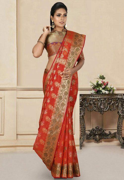 BanarasiShop : Buy Banarasi saree Suit Dupatta Online at 50% off 17